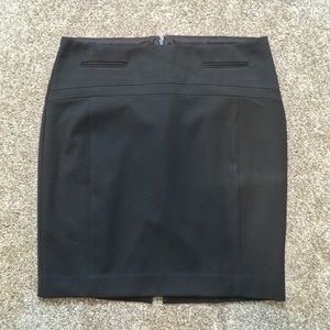 Express Black Pencil Skirt NWOT